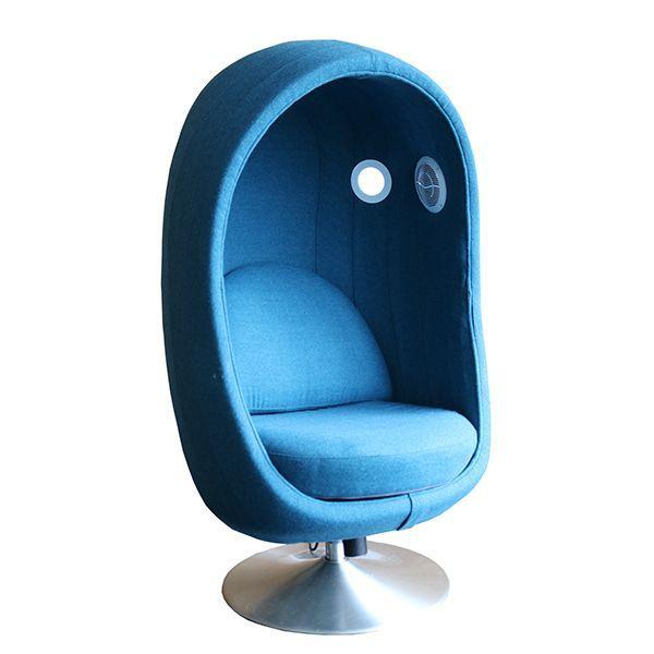 4 Senses akoestische stoel zijaanzicht