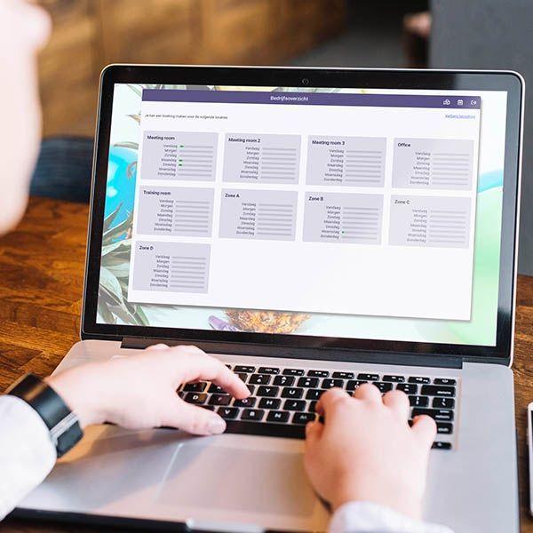 Buildium werkplek reserveringssoftware ruimtes reserveren bedrijfsoverzicht