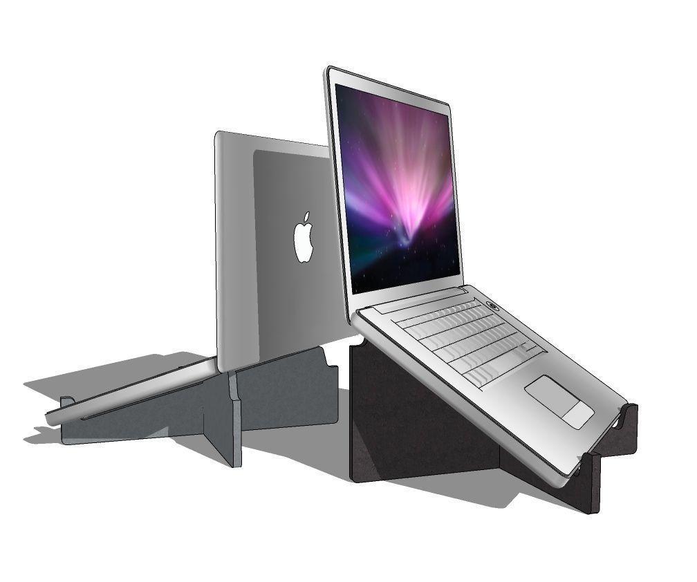 Ergowork laptopstandaard circulair Health2Work