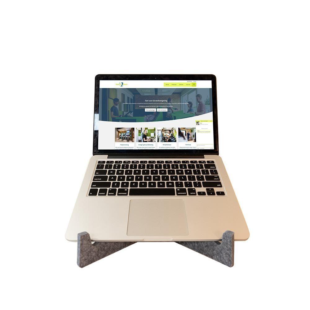 Ergowork laptopstandaard circulair