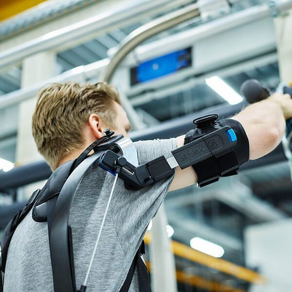 Skelex 360 exoskelet industrie