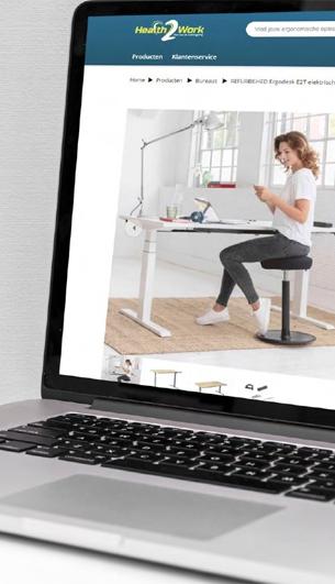 Je eigen online productcatalogus voor een gezonde thuiswerkplek