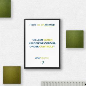 Ergowork poster - rechthoekig 70x50 cm