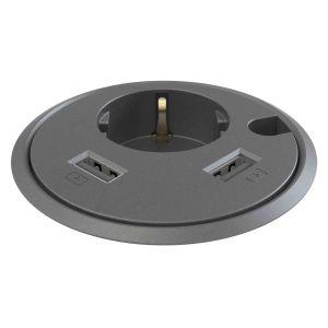 Powerdot met USB- en stekkeraansluiting