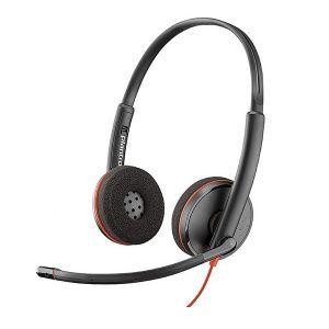 @home Plantronics USB headset binaural