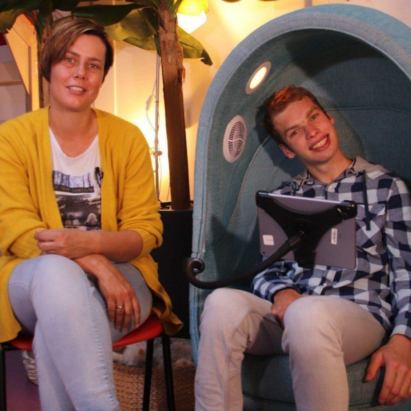 's Heeren Loo bewoner Paul vindt ontspanning in 4-Senses akoestische stoel