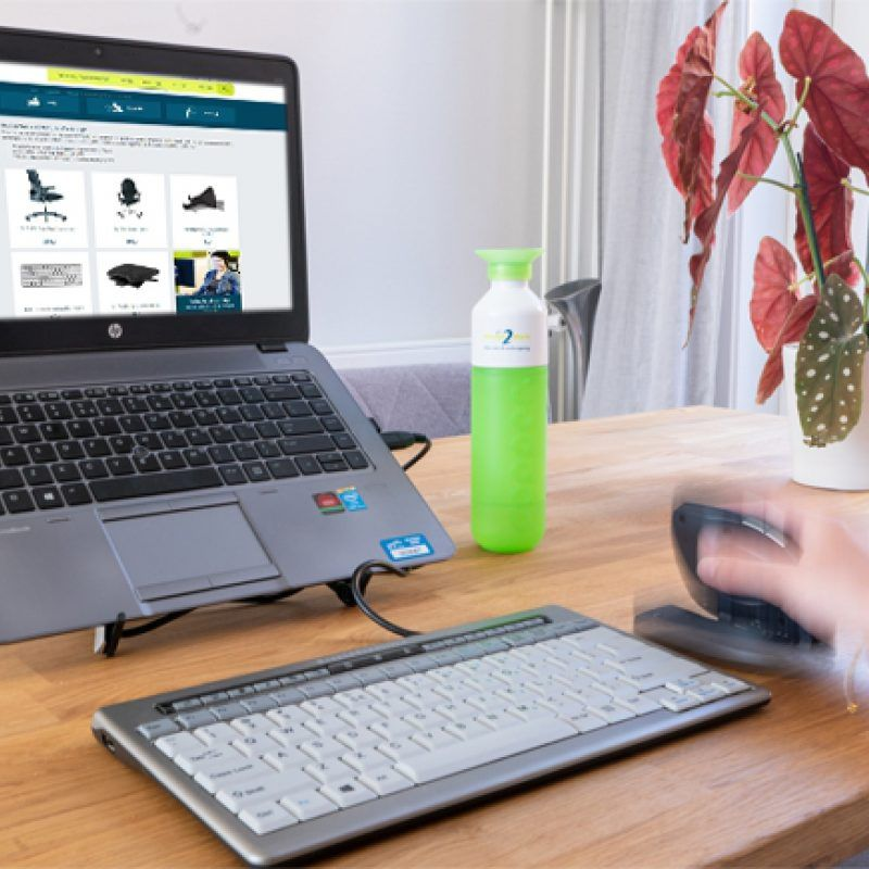 Eigen online productcatalogus voor HumanTotalCare