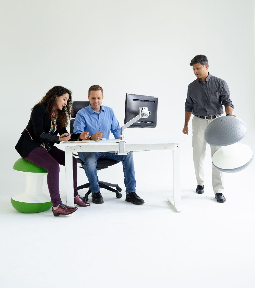 Ballo ergonomische zitbal op kantoor