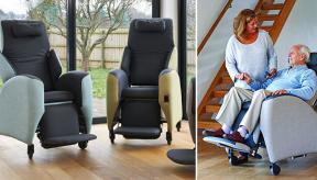 Nieuwe zitbeleving voor rolstoelcliënt