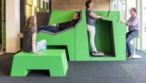 Kom in beweging in de Health2Work Cube