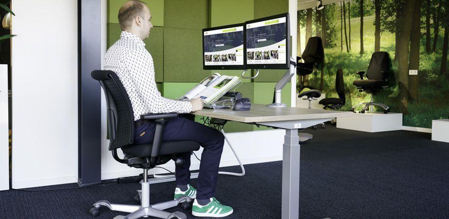 Hoe stel ik mijn bureaustoel goed in? Health2Work