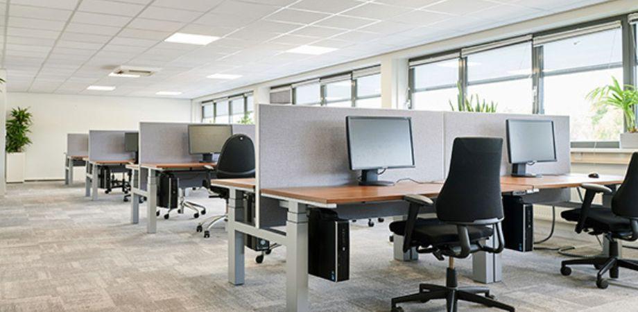 Dynamisch werken in een inspirerende kantooromgeving