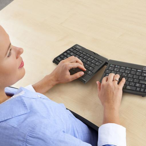 Goldtouch travel gesplitst toetsenbord 1