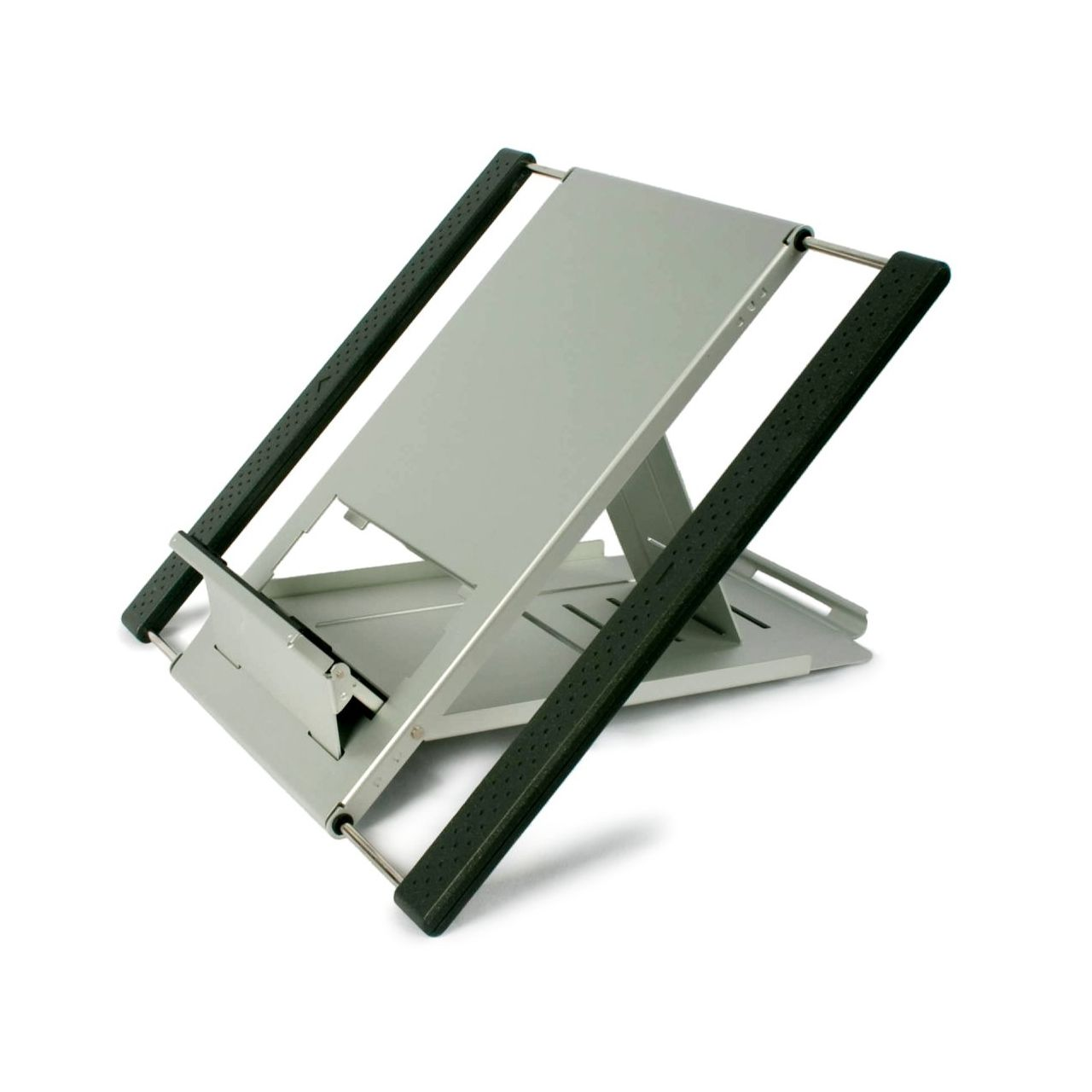 Ergostar laptopstand flexible laptophouder ERKASC01 0011s 0002 Schuin