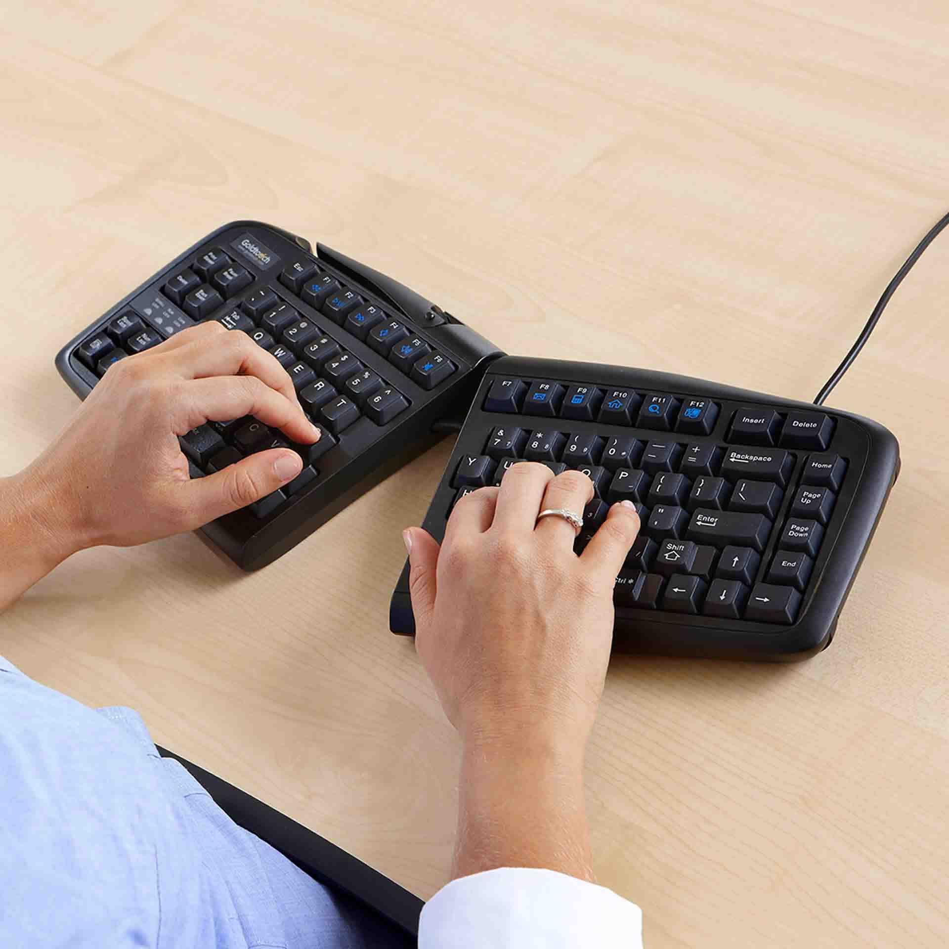 Goldtouch adjustable v2 toetsenbord ERKAGOL300 0002 Omgeving