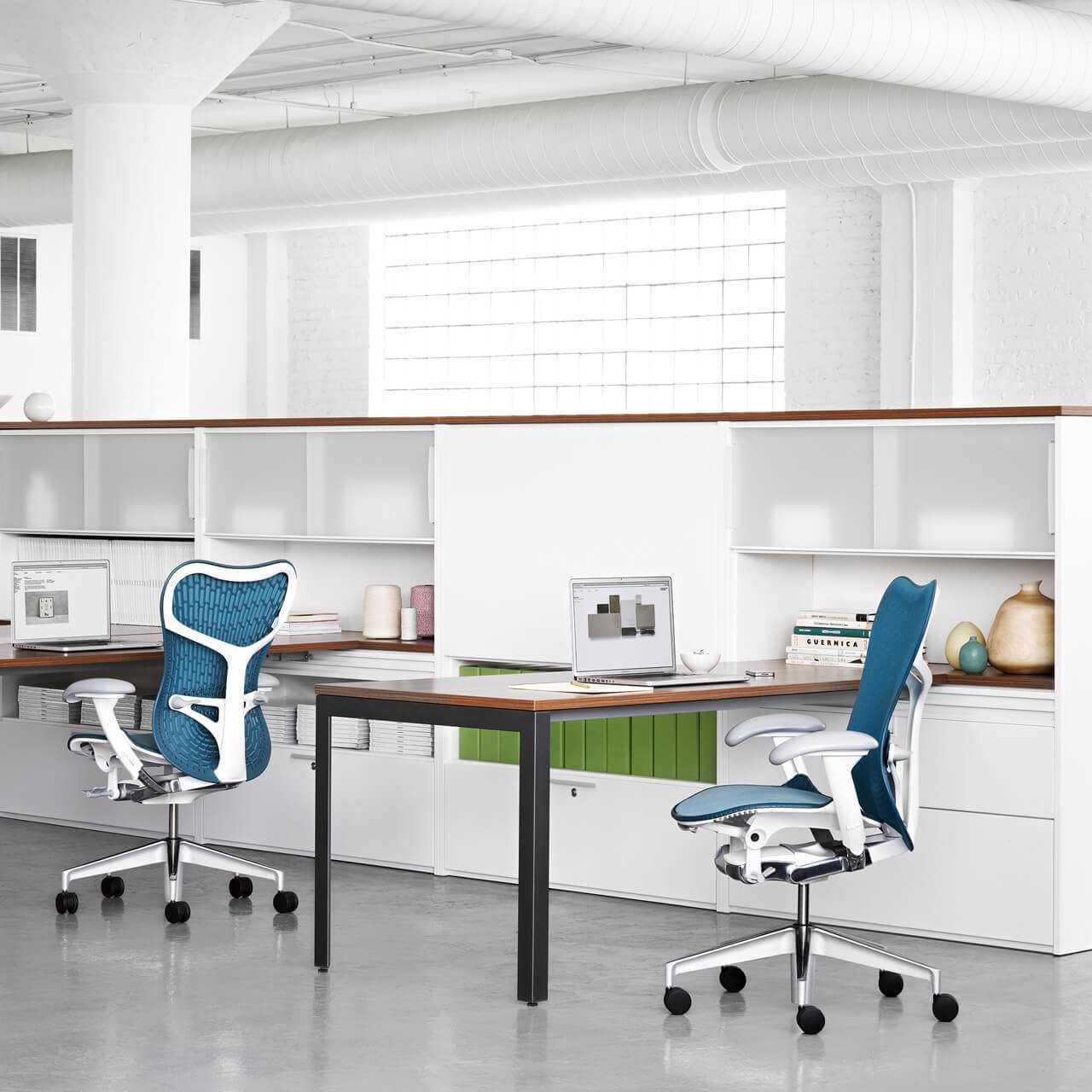 Herman miller mirra 2 ergonomische bureaustoelen 0012s 0011 Omgeving foto