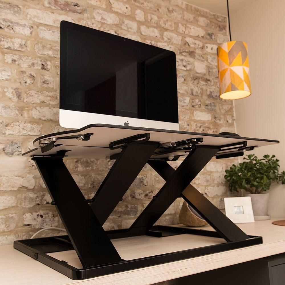 Oploft sit stand desk lifestyle standing