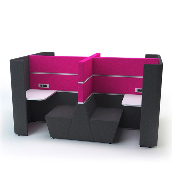 Akoestisch meubilar Zitsysteem Box Quad