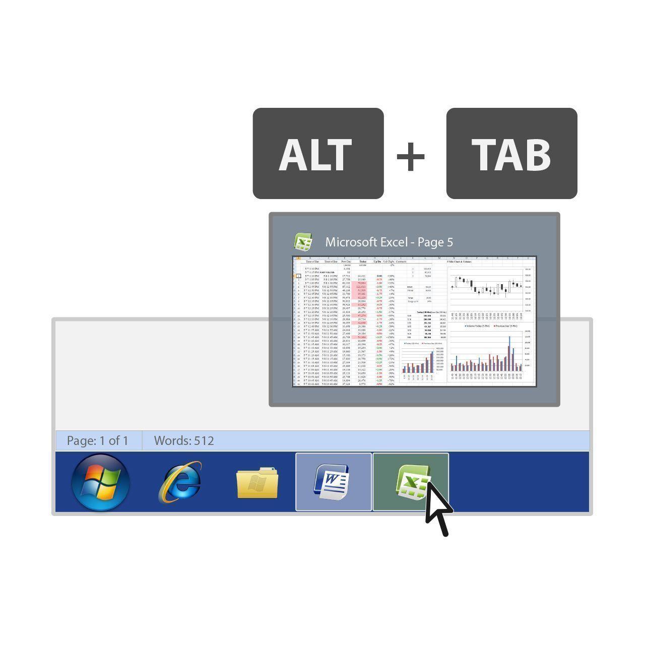 altmouse software arbosoftware ARTNRNNB alt+tab