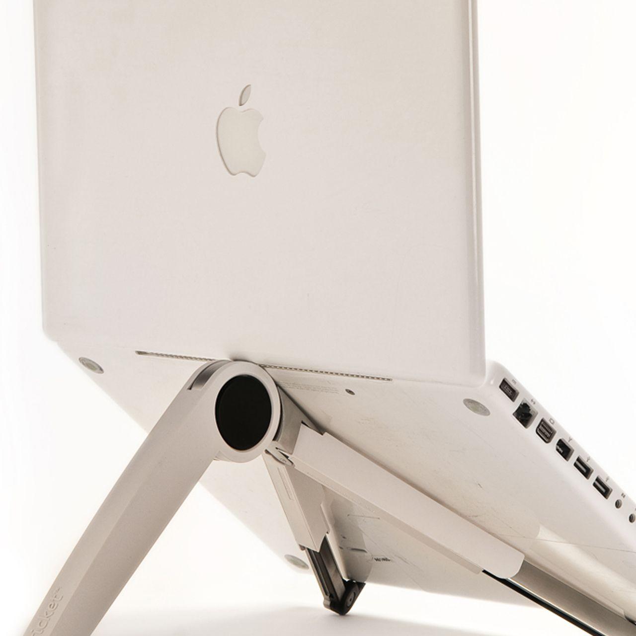 Cricket laptophouder achter