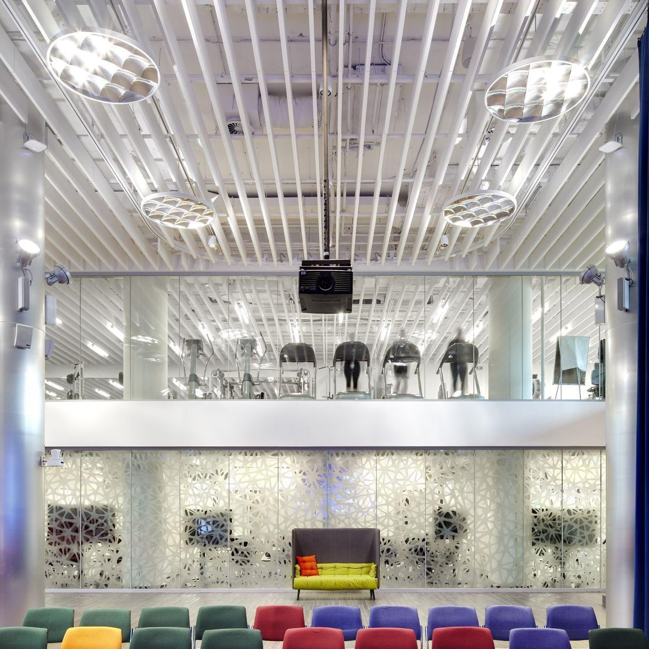 Ecophon Solo Baffle akoestisch plafond