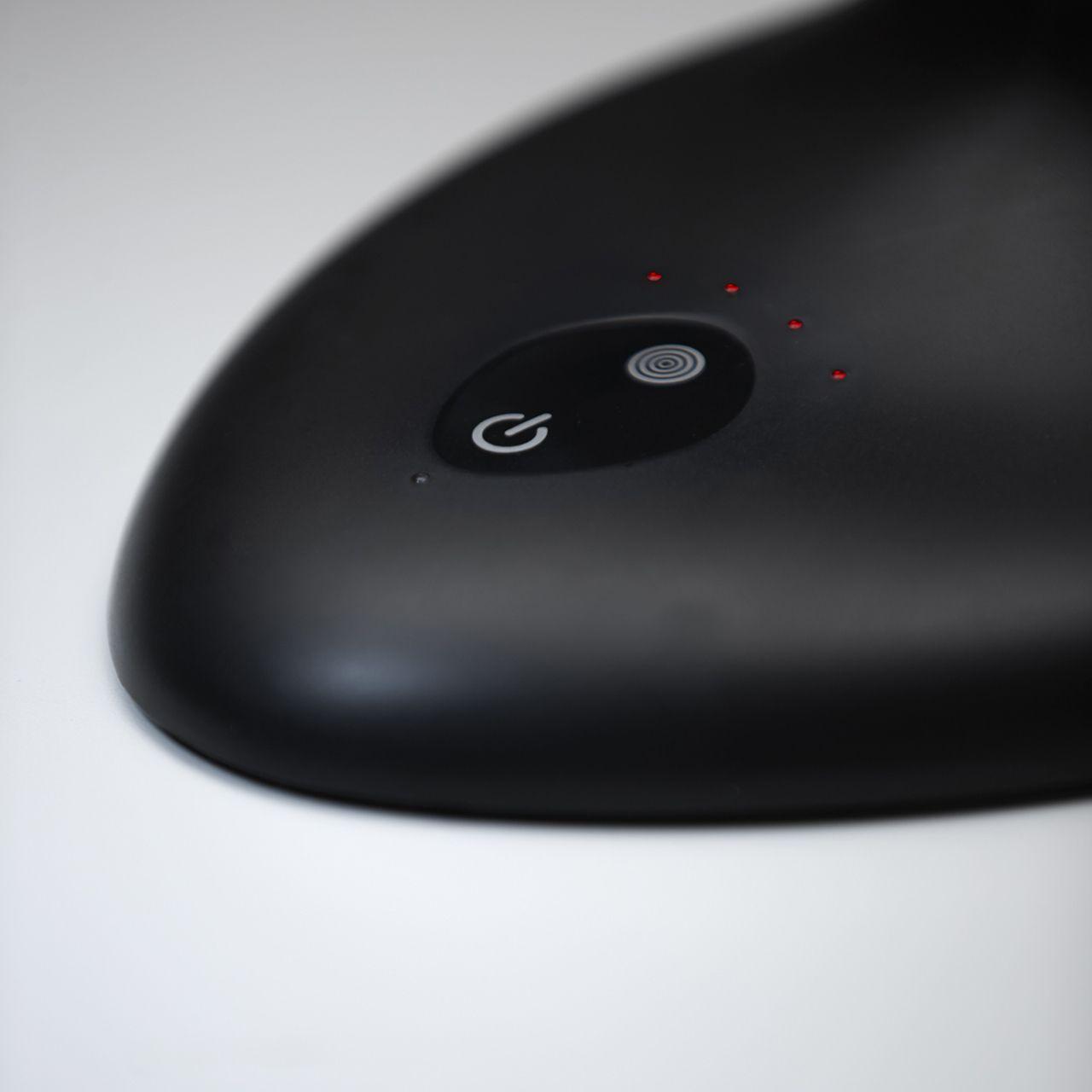 ergodesk flexlite met tafelvoet zwart led verlichting ERKAVLFL02 0004s Detail