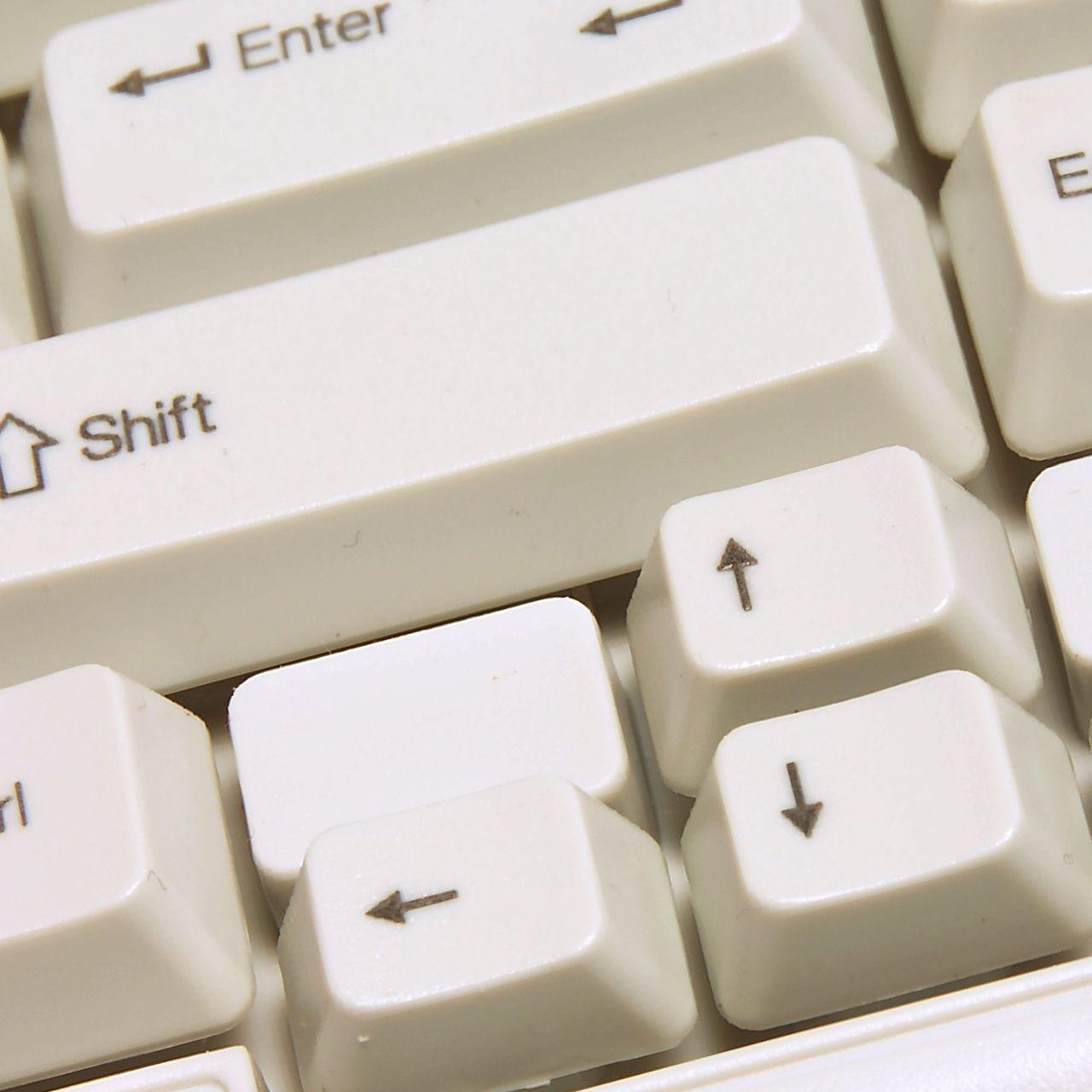 bakker-elkhuizen q board aquarius white toetsenbord bedraad ERKAAQU36 Detail