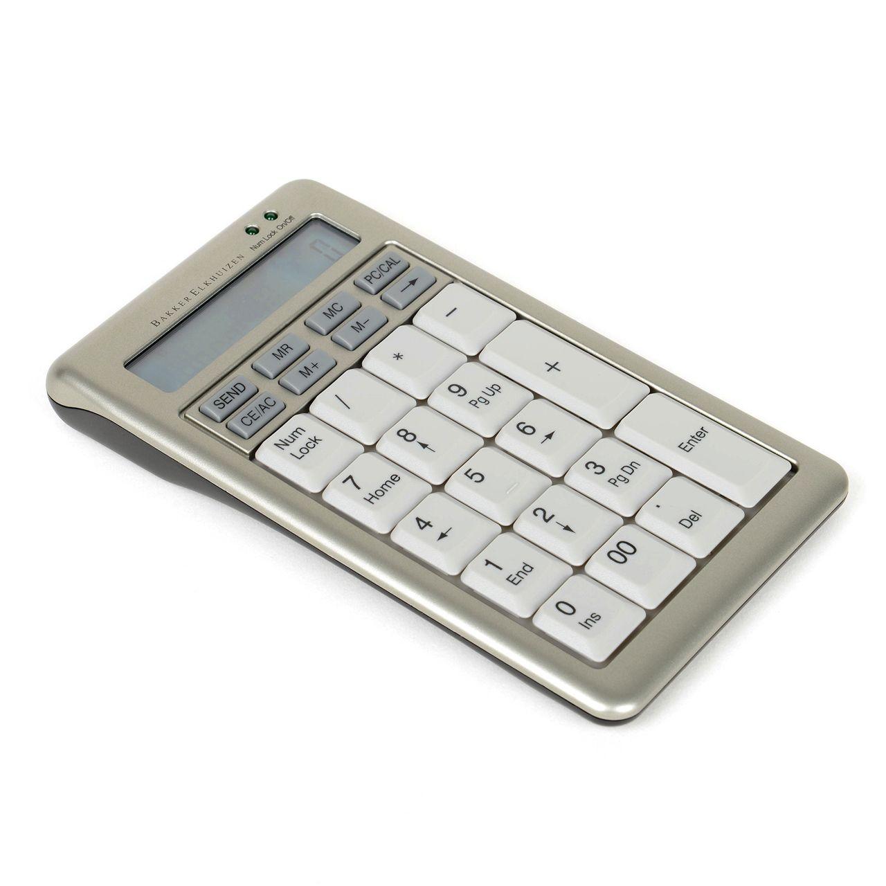 ergostars saturnus numeriek design toetsenbord ERKASAN203 Schuin
