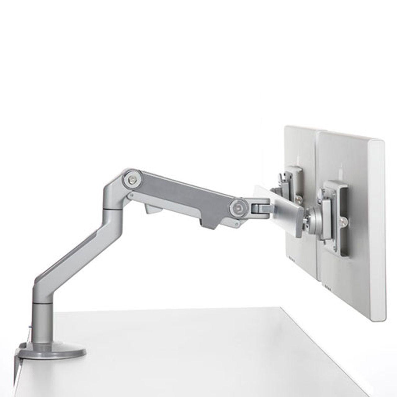 humanscale m8 crossbar flatscreenarm ERKANFLHS01 Zijkant