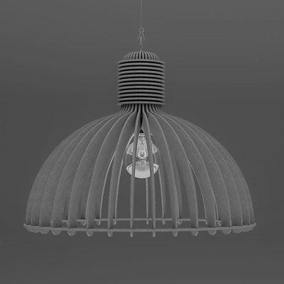 Industriële akoestische lamp