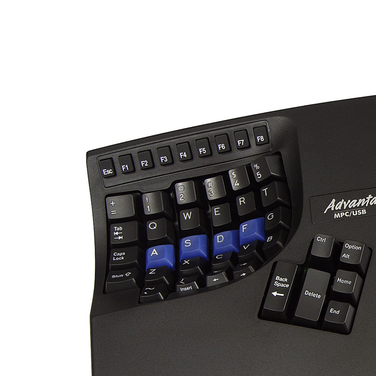Kinesis Advantage Toetsenbord Detail links