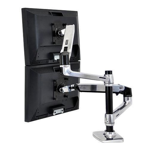 LX Dual Stacking arm aluminium