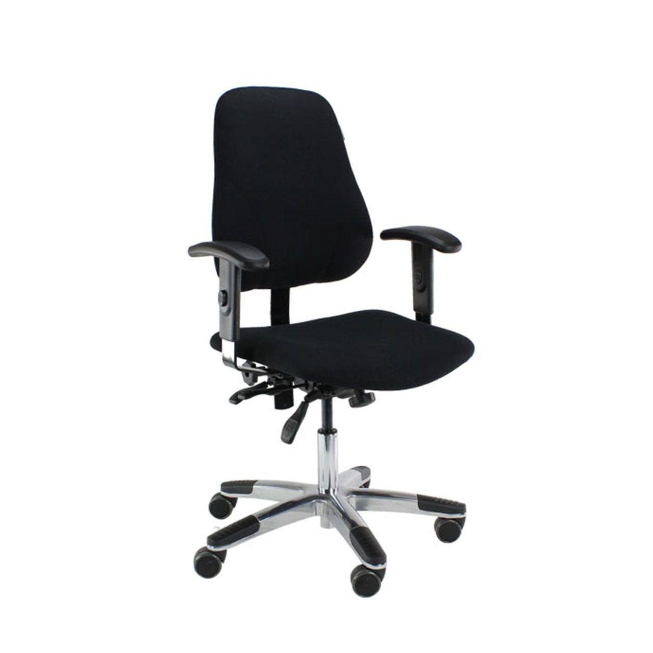 Score maxi 500 bureaustoel STKAVER501 0000 Zwart Voorkant