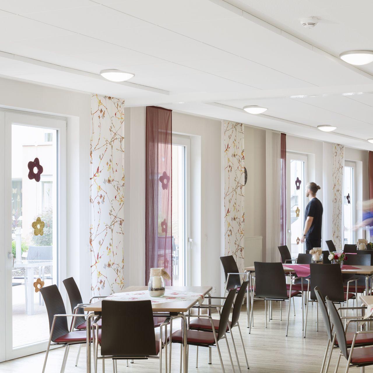 Ecophon akoestische verlijmbare panelen plafond ruimte akoestiek 0000s 0000s 0000 omgeving