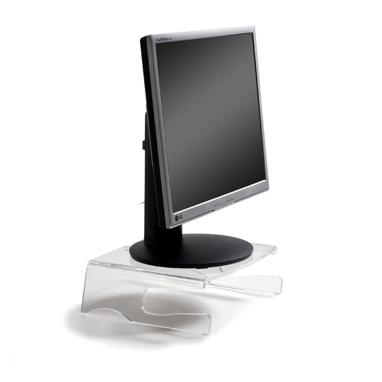 q riser 100 monitorsteun ERKAQ1058 Met Monitor