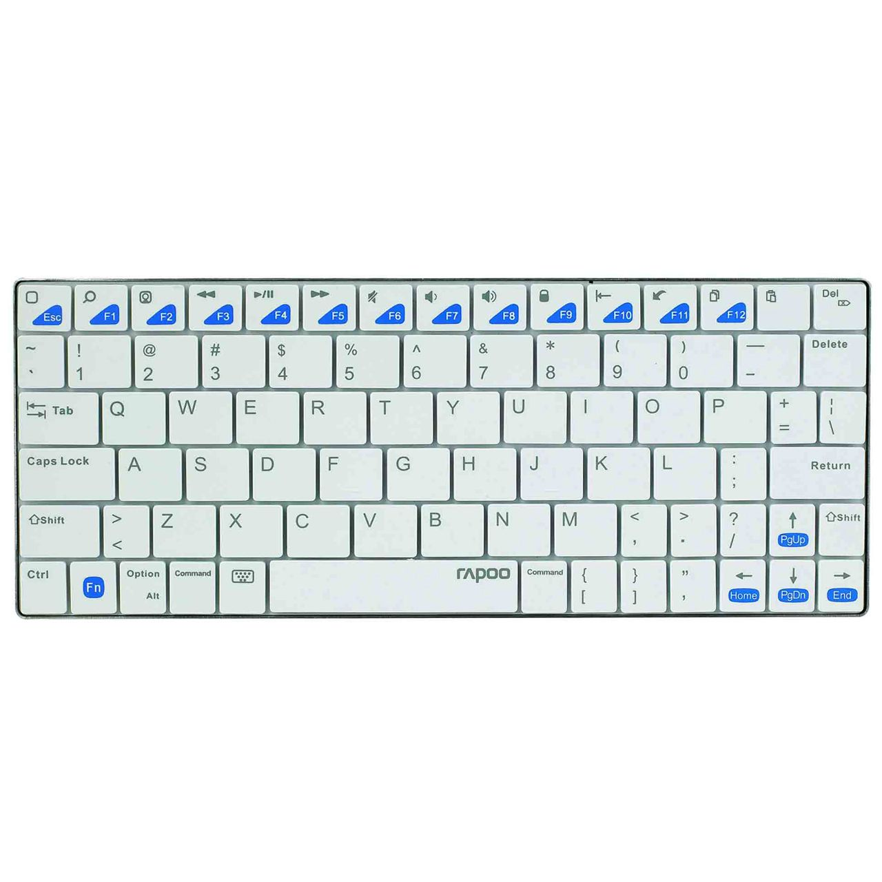 rapoo tablet keyboard e6300 toetsenbord ERKAESTZ01 Wit