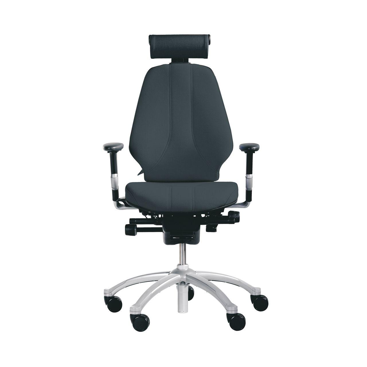Bureaustoel Met Neksteun.Rh Logic 300 Ergonomische Bureaustoel Health2work Health2work