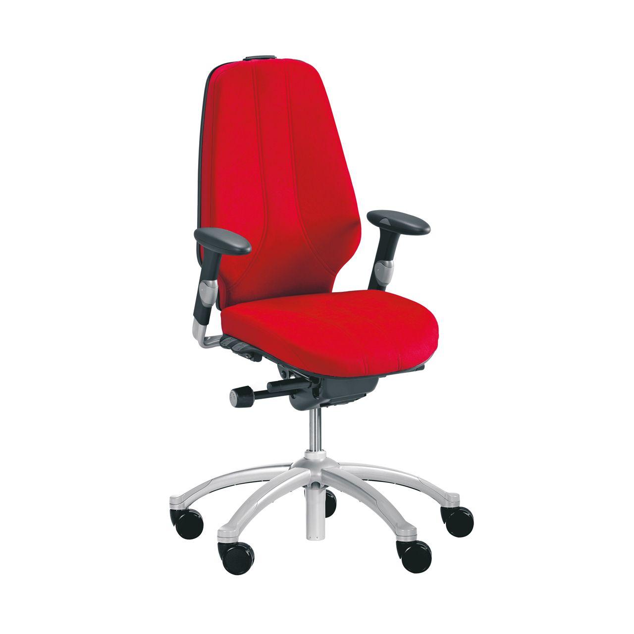 RH Logic 400 Elite 24 7 Bureaustoel Rood