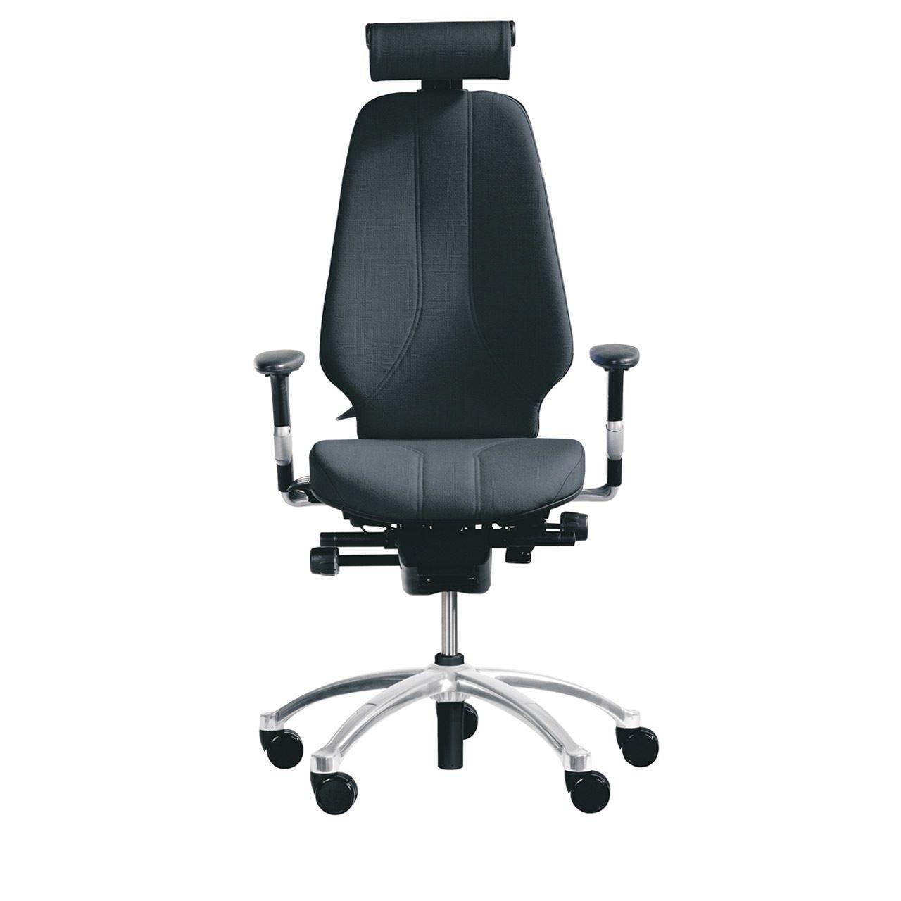 RH Logic 400 ergonomische bureaustoel voorkant