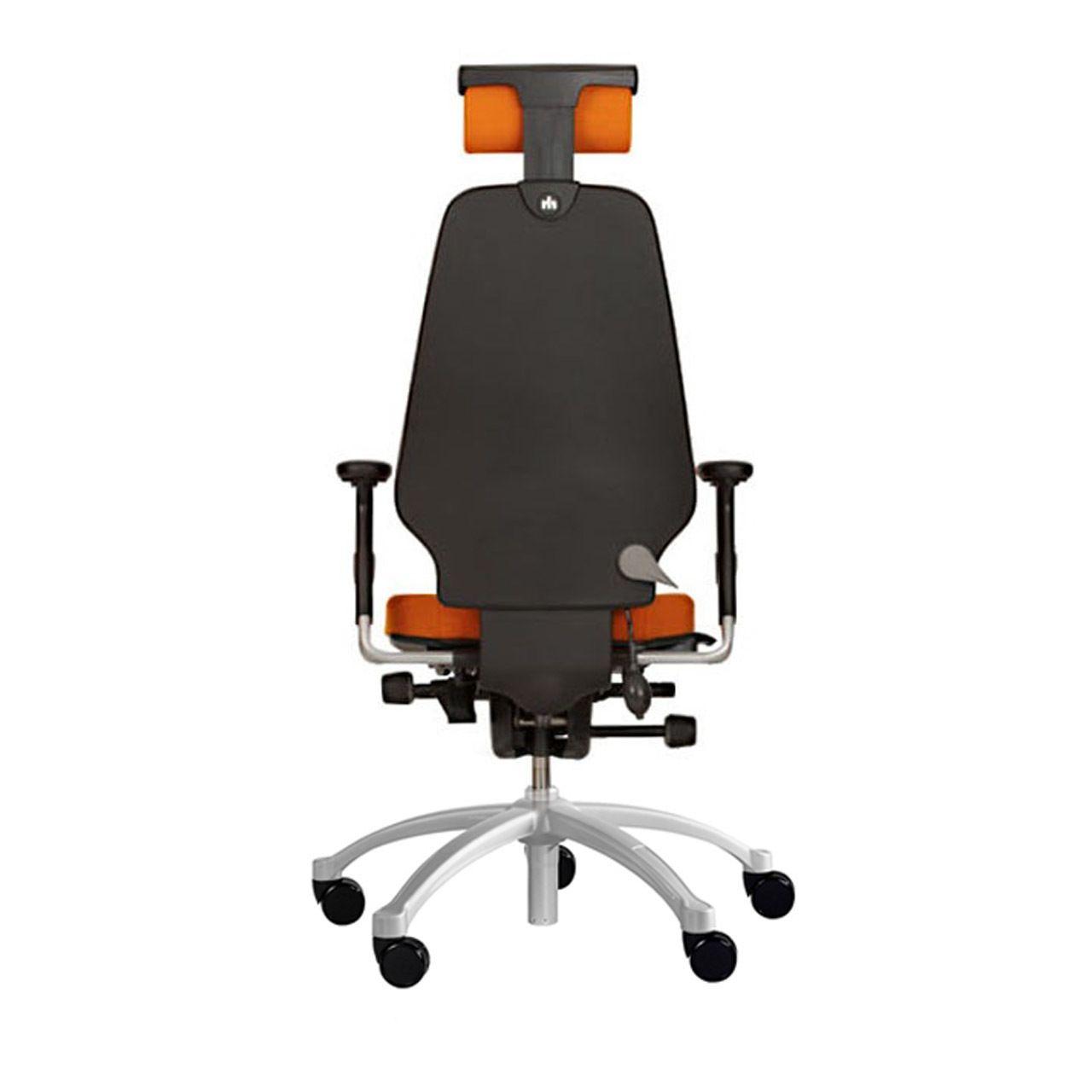 RH Logic 400 ergonomische bureaustoel achterkant