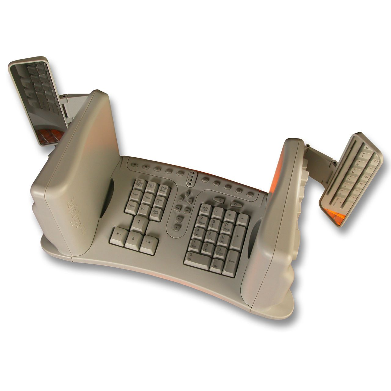 Safetype Verticaal toetsenbord Voorkant