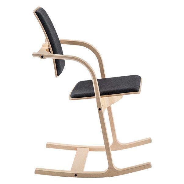 varier stokke actulum balansstoel STKASTO112 zijkant