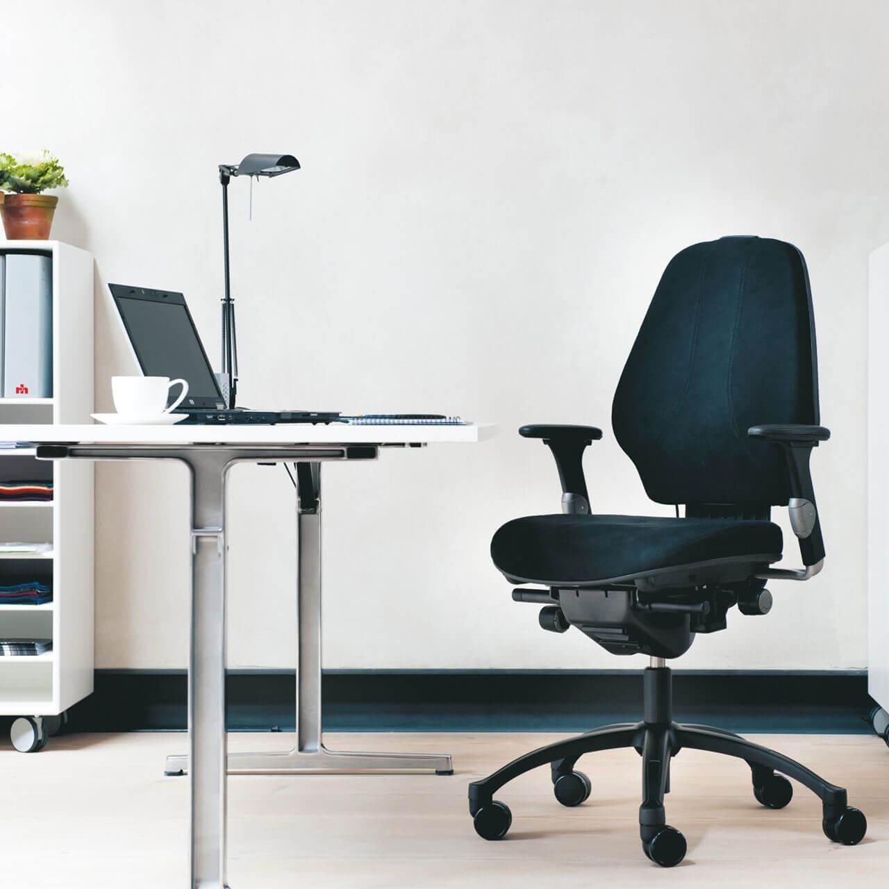Rh logic 300 xl bureaustoel STKALOG303 0006 Omgeving