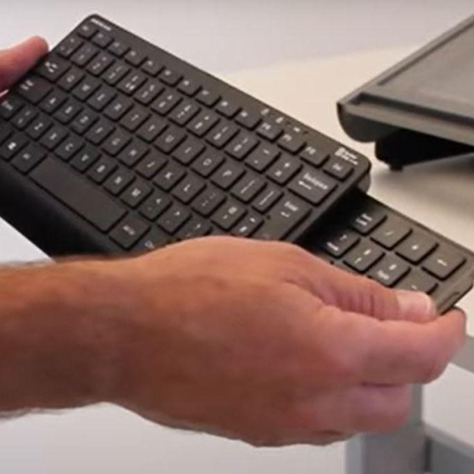 Slide keyboard